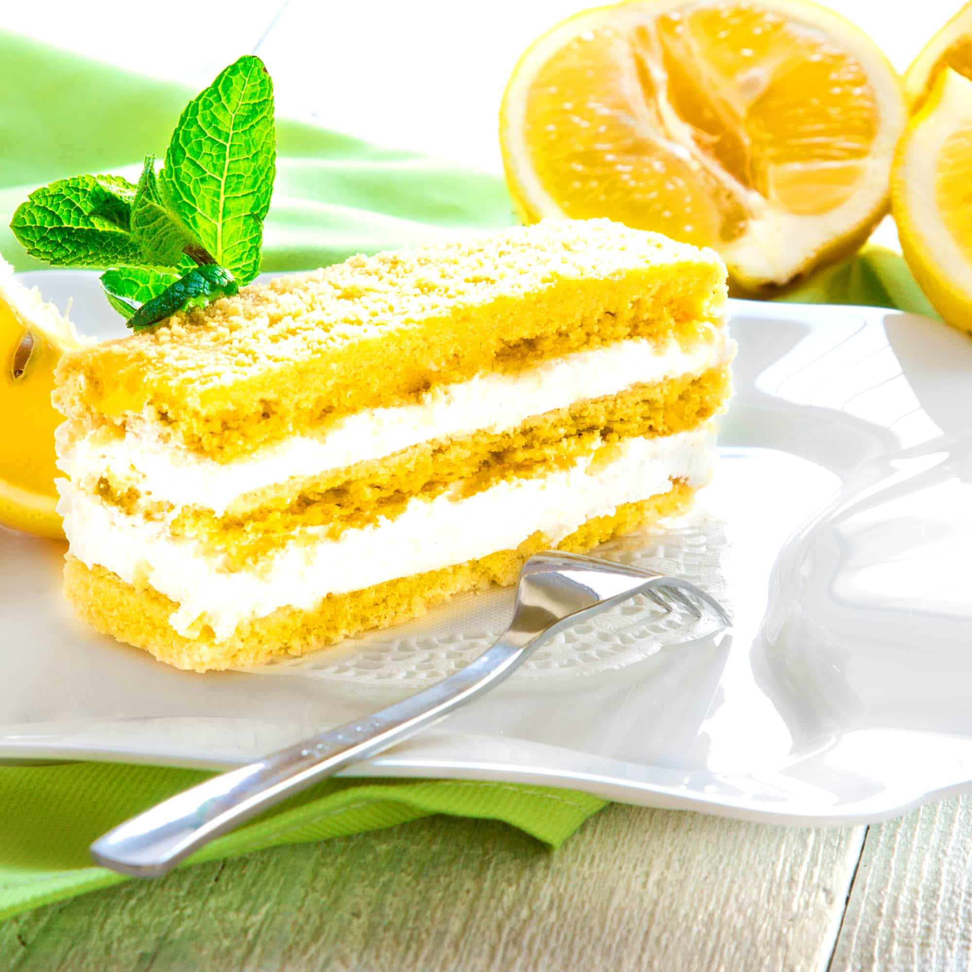 Limoncello Mascarpone Cake Food Related